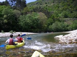 canoe river sella